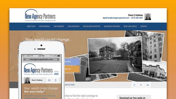 New Agency Partners Website